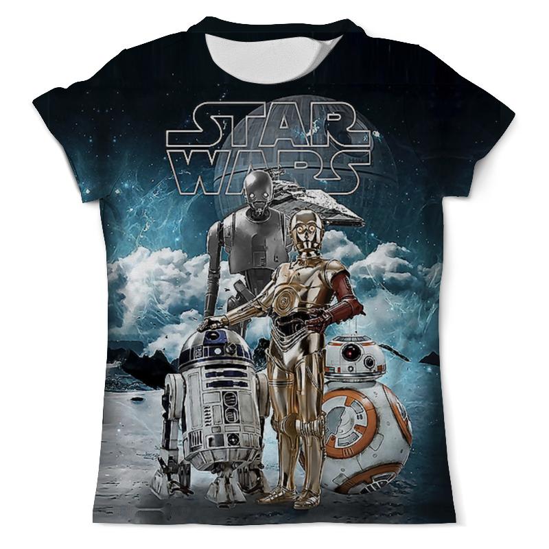 Футболка с полной запечаткой (мужская) Printio Star wars droids лонгслив printio star wars droids