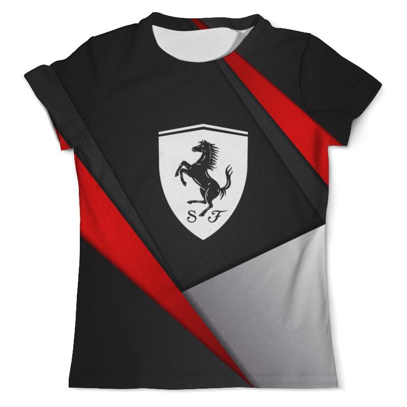 Printio Ferrari футболка ferrari