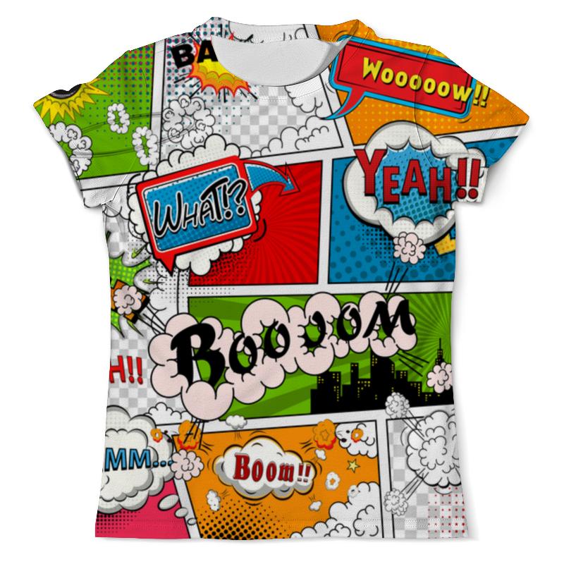 Фото - Футболка с полной запечаткой (мужская) Printio Pop art style футболка с полной запечаткой женская printio pop art