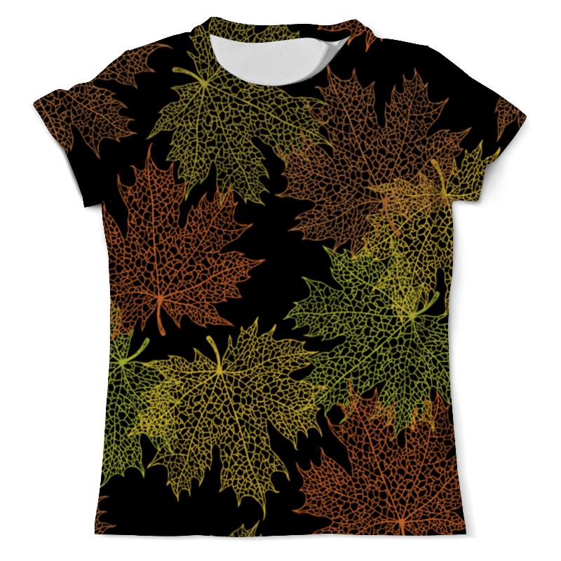 Printio Кленовые листья футболка с полной запечаткой мужская printio расписные листья