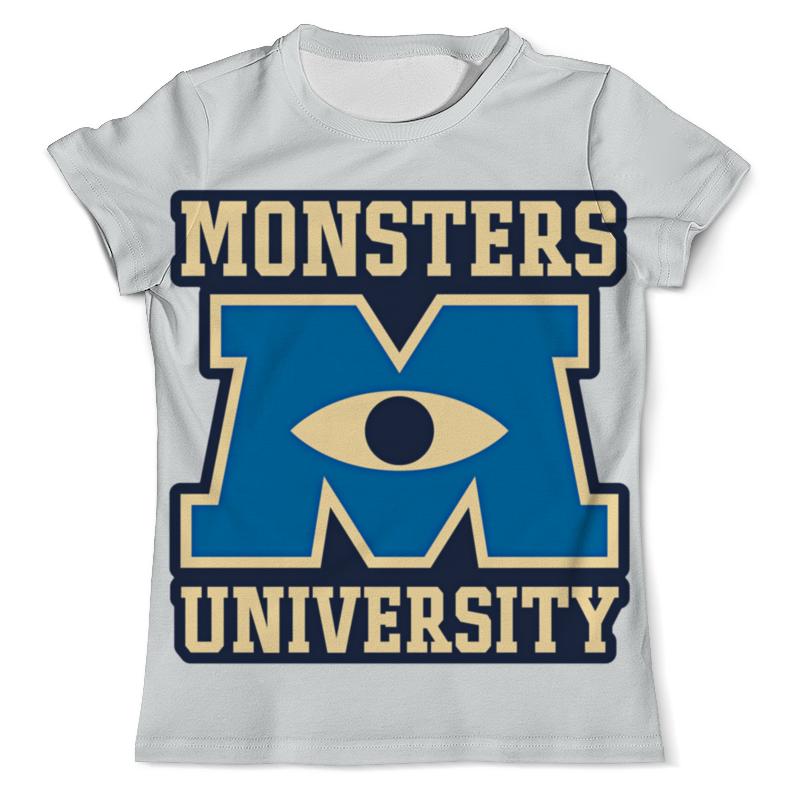 Футболка с полной запечаткой (мужская) Printio Monsters university футболка с полной запечаткой мужская printio корпорация монстров monsters inc