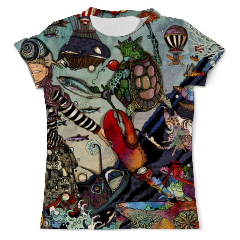 Футболка с полной запечаткой (мужская) Printio Алиса в стране чудес футболка с полной запечаткой мужская printio алиса