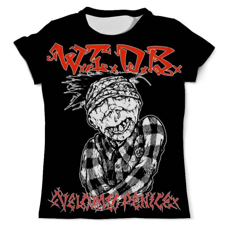 Printio Thrash metal art футболка с полной запечаткой мужская printio tankard thrash metal band