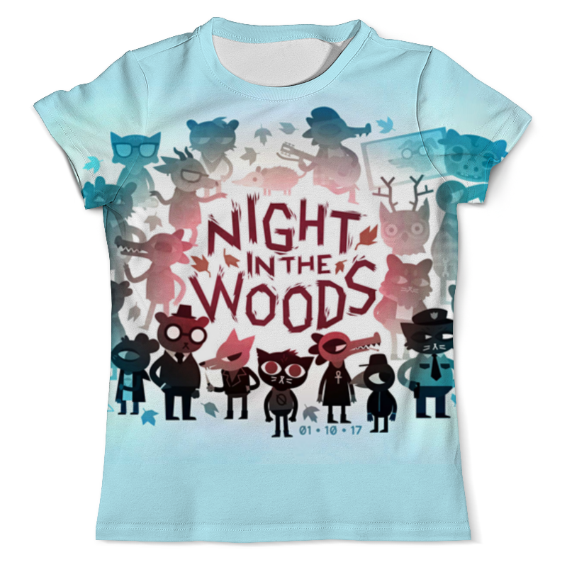 Printio Night in the woods цена 2017