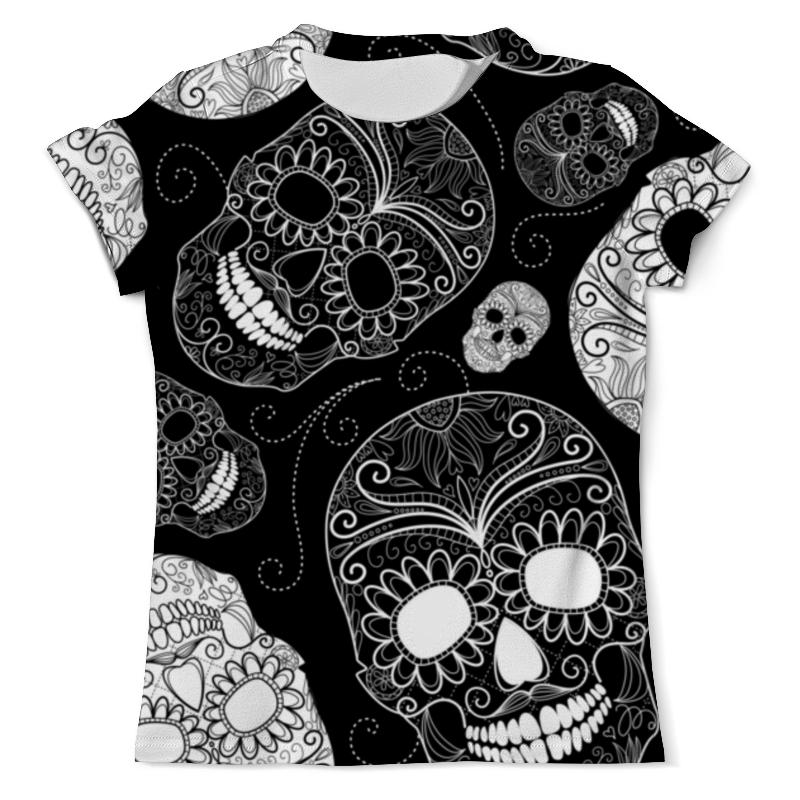 Футболка с полной запечаткой (мужская) Printio Skull - 21 футболка с полной запечаткой мужская printio skull triangle