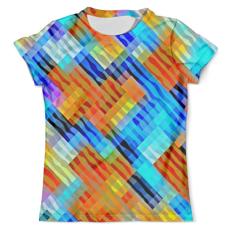 Футболка с полной запечаткой (мужская) Printio Волнистый узор футболка с полной запечаткой для девочек printio волнистый узор