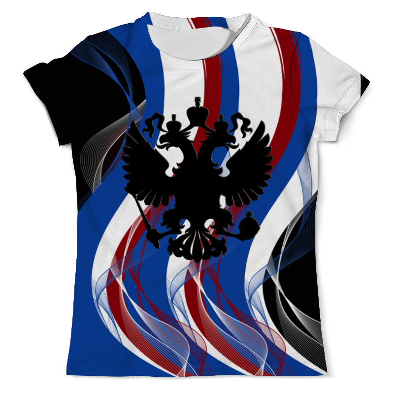 Футболка с полной запечаткой (мужская) Printio Герб россии футболка с полной запечаткой мужская printio герб рф