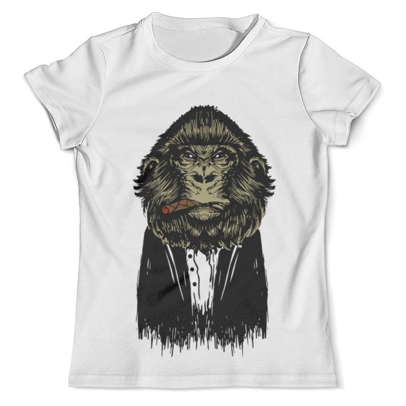 Футболка с полной запечаткой (мужская) Printio Обезьяна с сигарой футболка с полной запечаткой мужская printio war monkey обезьяна