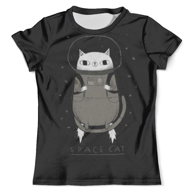 Футболка с полной запечаткой (мужская) Printio Space cat футболка с полной запечаткой мужская printio grumpy cat