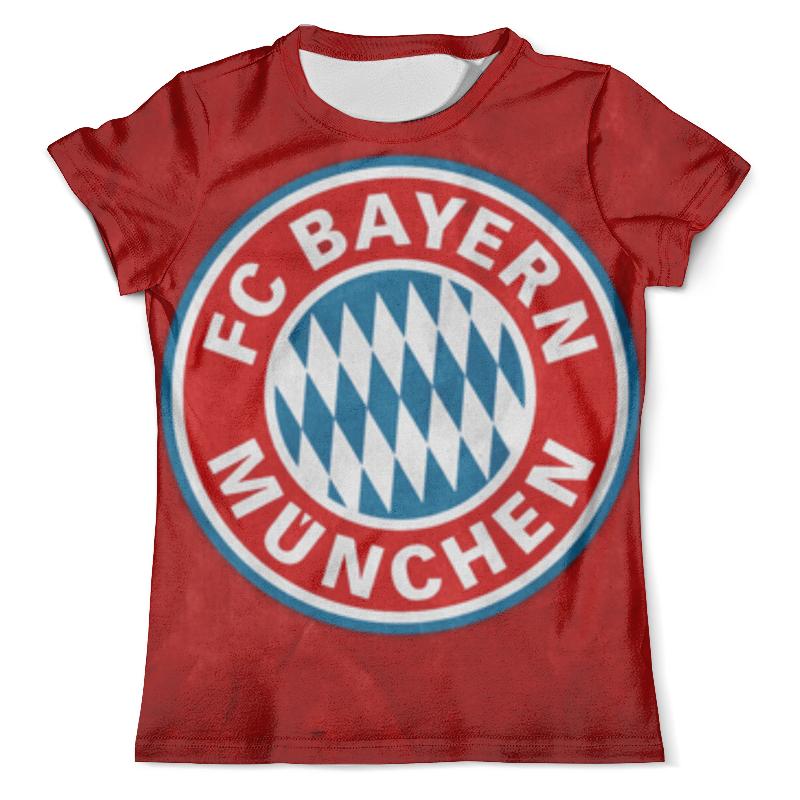 Футболка с полной запечаткой (мужская) Printio Бавария мюнхен футболка бавария