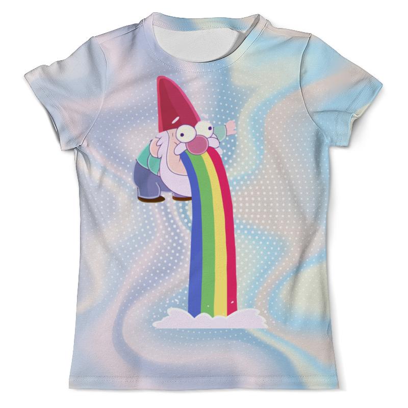 Футболка с полной запечаткой (мужская) Printio Гном. футболка с полной запечаткой для девочек printio гном