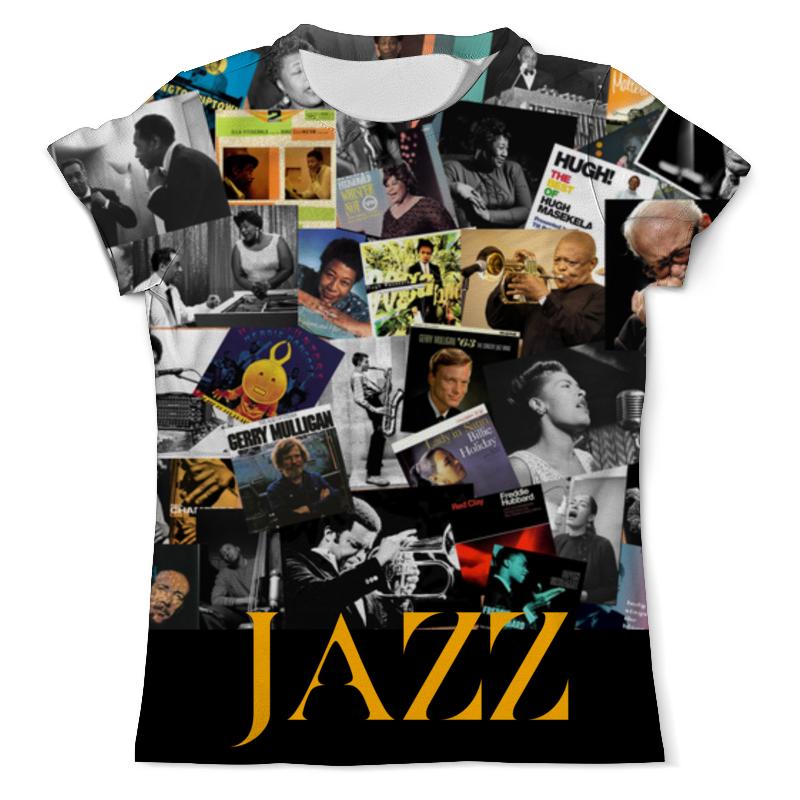 Printio Jazz legends футболка с полной запечаткой мужская printio jazz trumpet saxophone