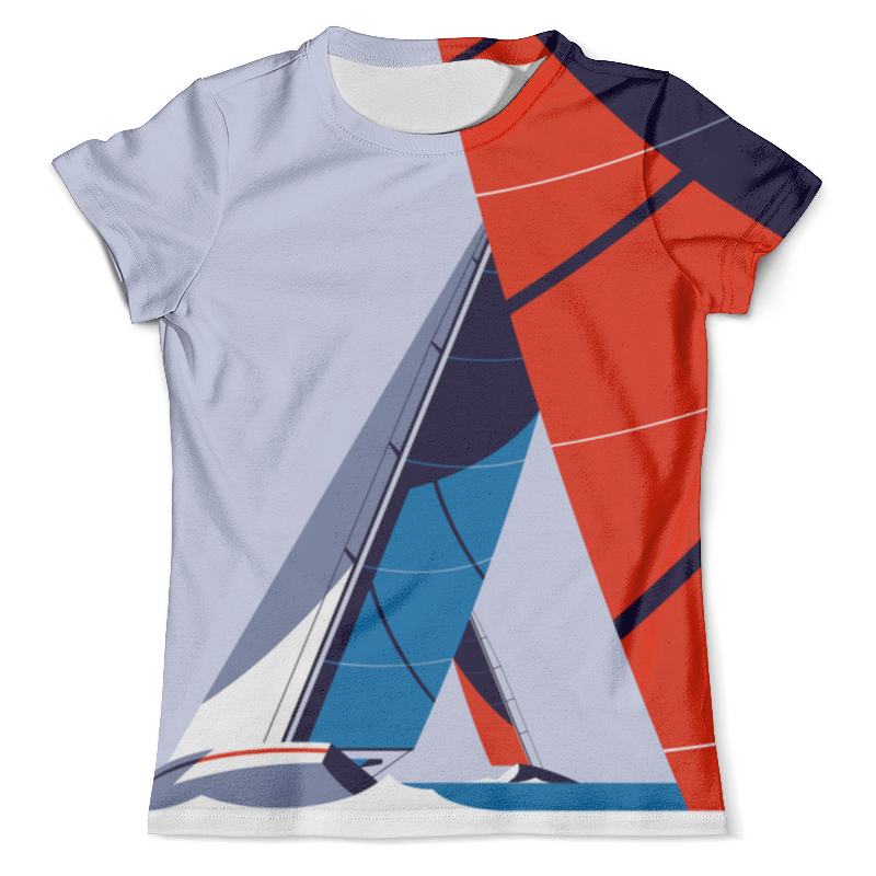 Футболка с полной запечаткой (мужская) Printio Regatta футболка regatta футболка cline