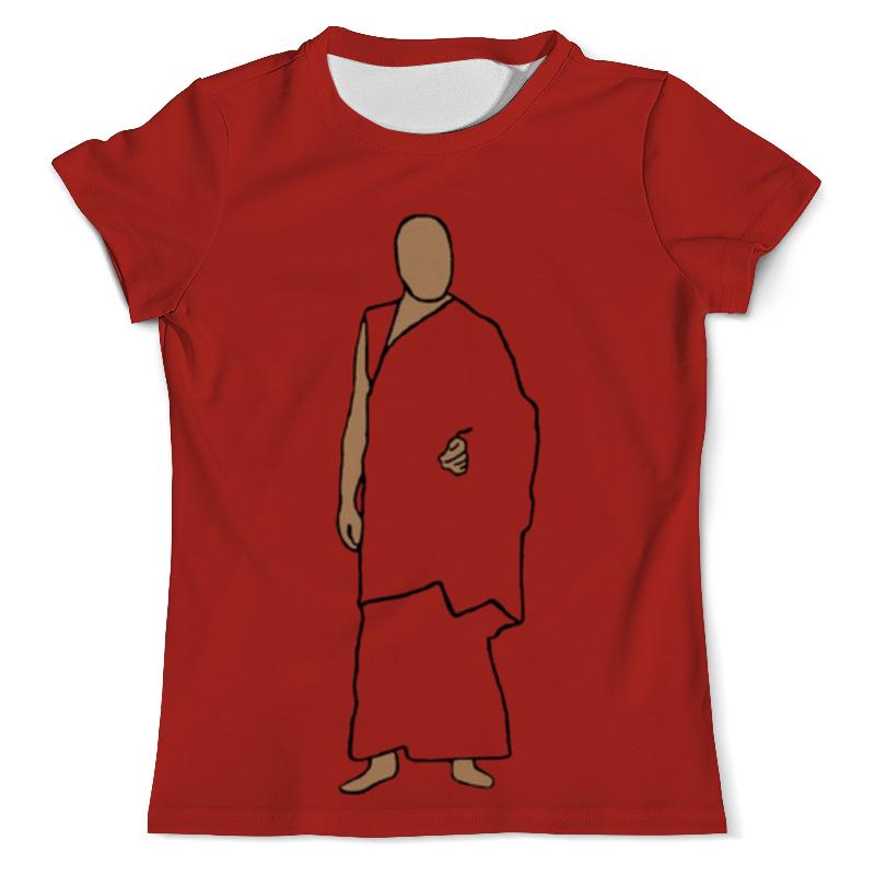 Футболка с полной запечаткой (мужская) Printio Далай-лама футболка с полной запечаткой мужская printio далай лама
