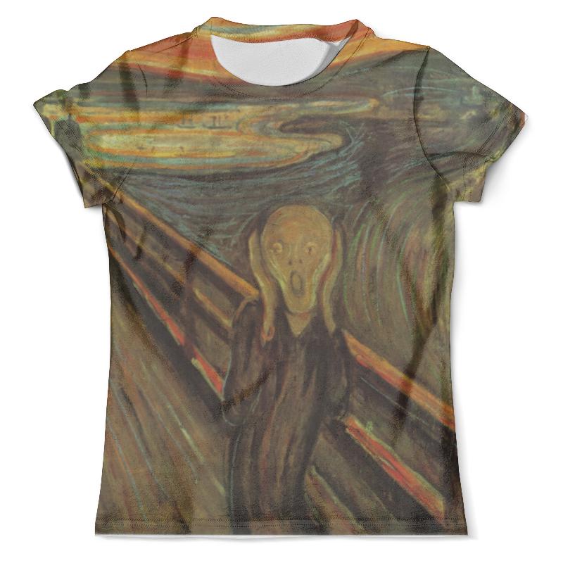 Футболка с полной запечаткой (мужская) Printio Картина «крик» футболка с полной запечаткой мужская printio летнее солнцестояние эдвард роберт хьюз