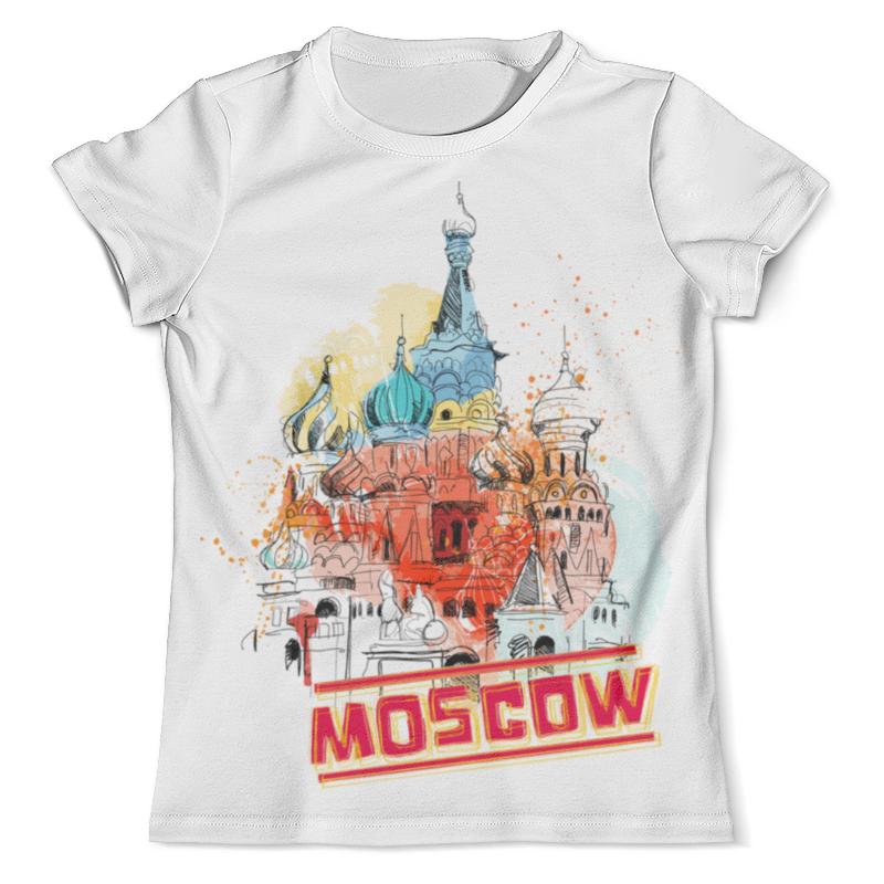 Футболка с полной запечаткой (мужская) Printio Москва футболка с полной запечаткой мужская printio собор василия блаженного