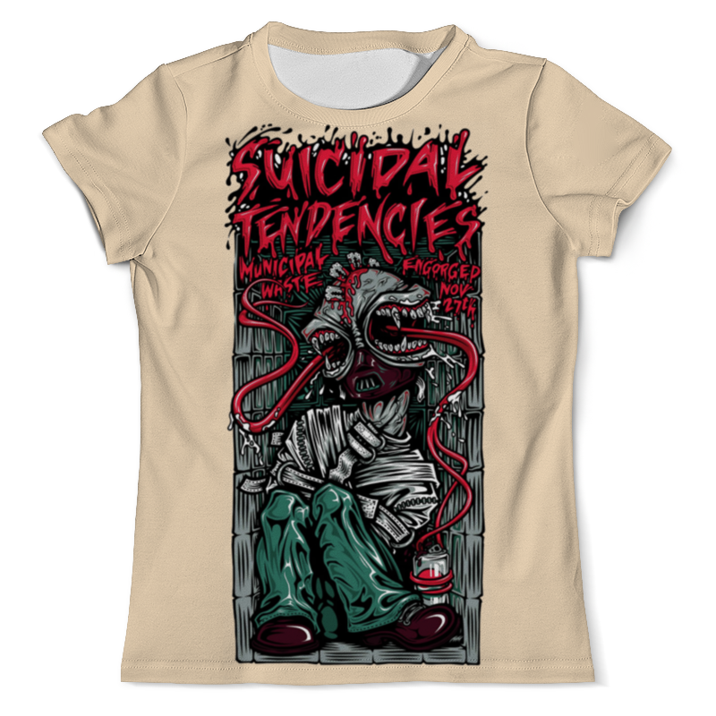лучшая цена Printio Suicidal tendencies band