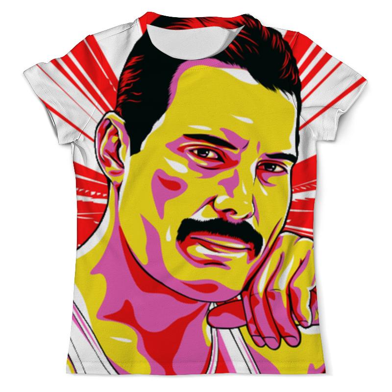 Printio Фреди меркури футболка с полной запечаткой мужская printio фредди меркури