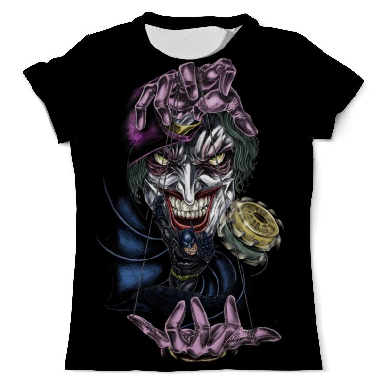 Футболка с полной запечаткой (мужская) Printio Joker & batman футболка с полной запечаткой мужская printio the lego batman movie