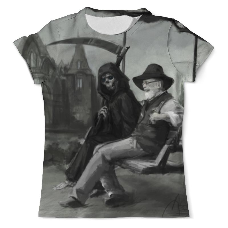 Футболка с полной запечаткой (мужская) Printio Встреча смерти футболка с полной запечаткой мужская printio встреча смерти