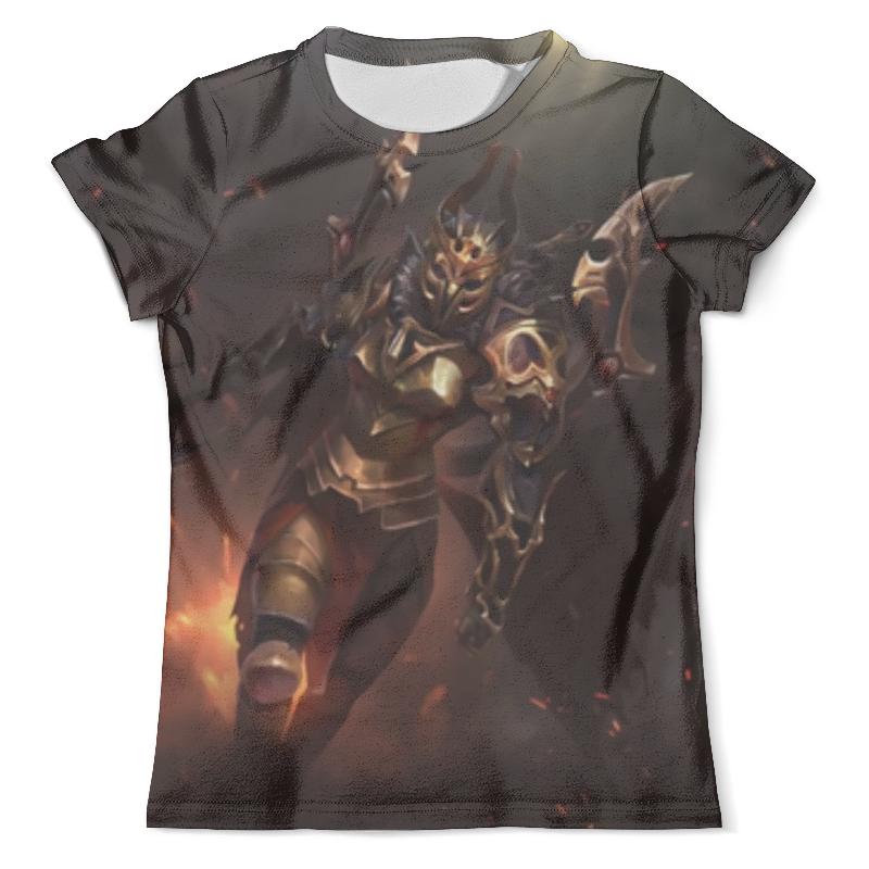 Футболка с полной запечаткой (мужская) Printio Legion commander футболка с полной запечаткой для девочек printio legion commander