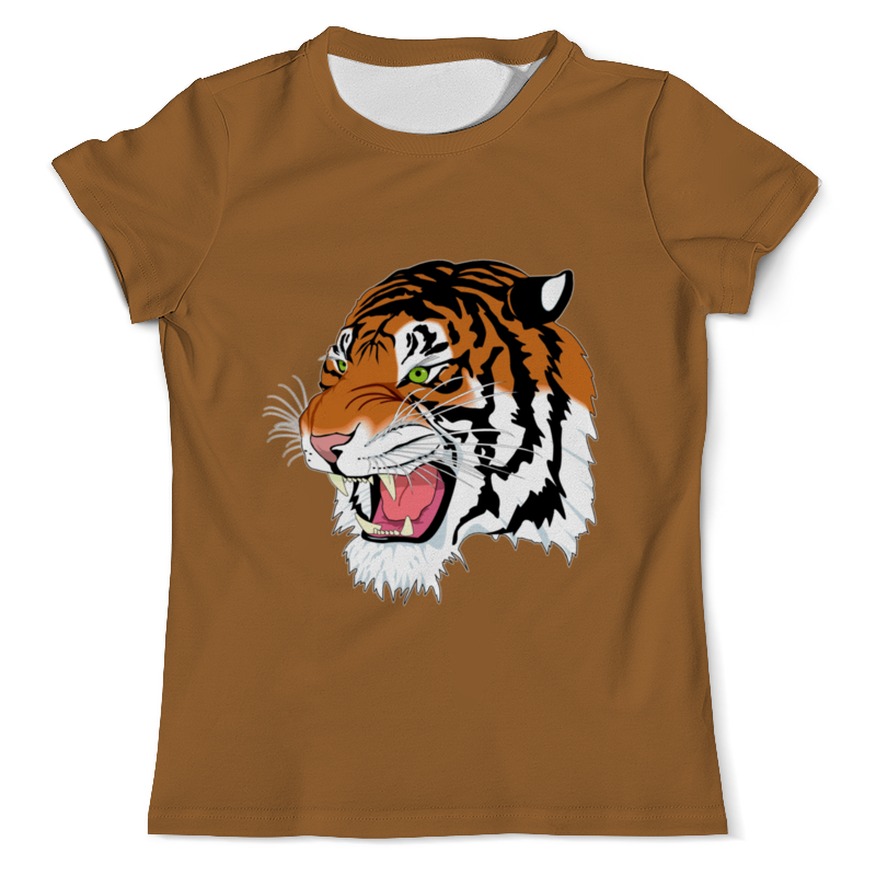 Printio Тигр. футболка с полной запечаткой мужская printio амурский тигр