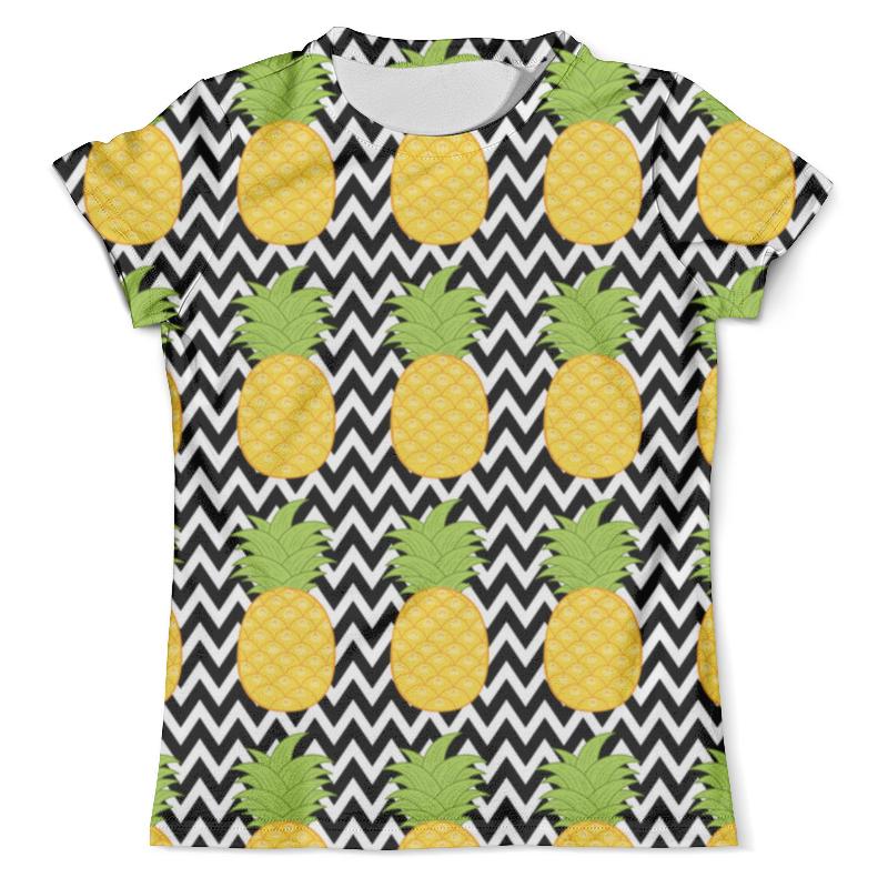 Футболка с полной запечаткой (мужская) Printio Ананасы (1) футболка с полной запечаткой для мальчиков printio ананасы