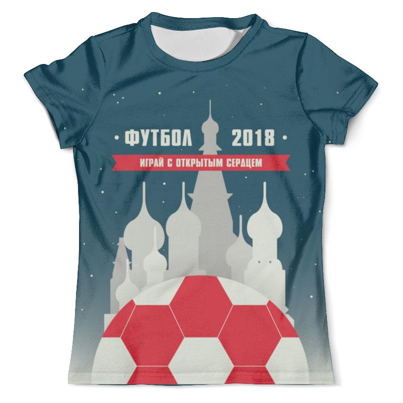 Футболка с полной запечаткой (мужская) Printio Спорт россия футболка с полной запечаткой мужская printio россия царская