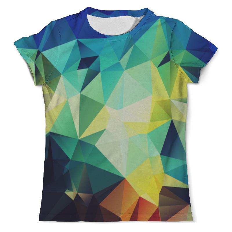 Футболка с полной запечаткой (мужская) Printio Abstraction футболка с полной запечаткой для девочек printio abstraction