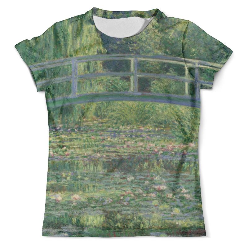 Футболка с полной запечаткой (мужская) Printio Пруд с водяными лилиями (клод моне) футболка с полной запечаткой printio топинамбур клод моне