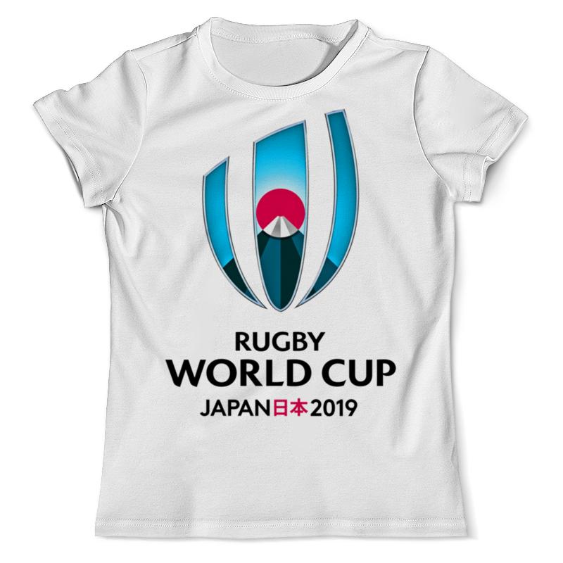 Футболка с полной запечаткой (мужская) Printio Кубок мира по регби чемпионат мира по регби 2019 африка 1 победитель утешительного турнира