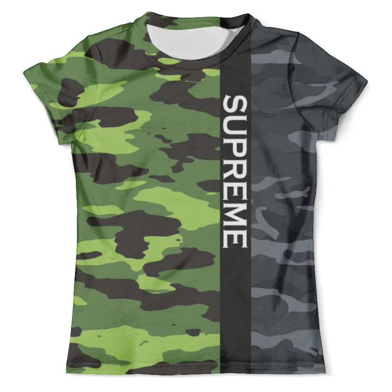 Футболка с полной запечаткой (мужская) Printio Supreme футболка мужская a p c carhartt wip pocket tee wtaps supreme