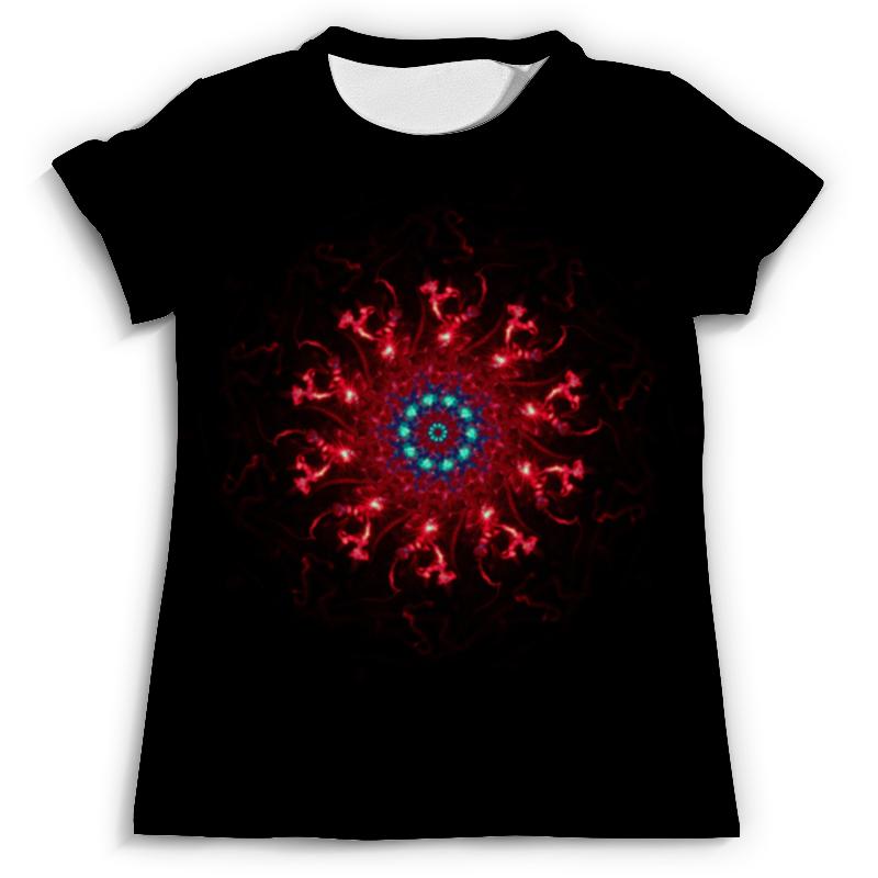 Футболка с полной запечаткой (мужская) Printio Glitch art (сфера) футболка с полной запечаткой для девочек printio glitch art чёрная дыра