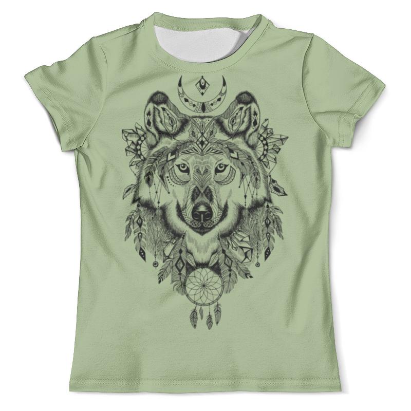 Футболка с полной запечаткой (мужская) Printio Тотем. волк футболка с полной запечаткой мужская printio красная шапочка и серый волк