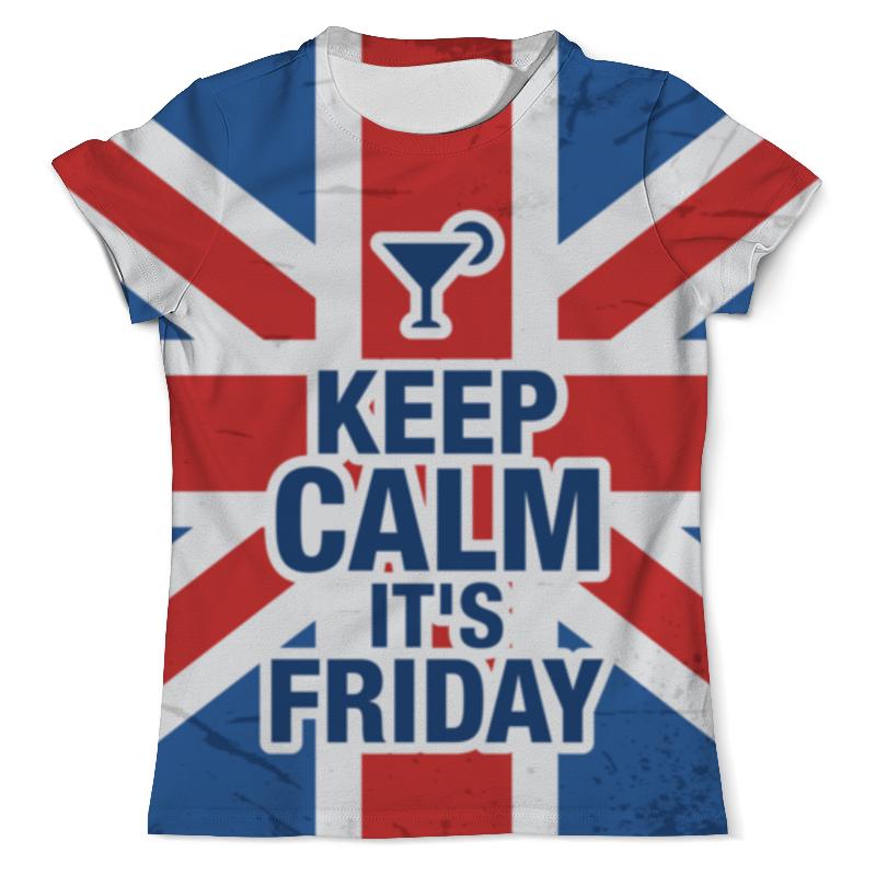 Футболка с полной запечаткой (мужская) Printio Keep calm! толстовка с полной запечаткой printio keep calm ремейк