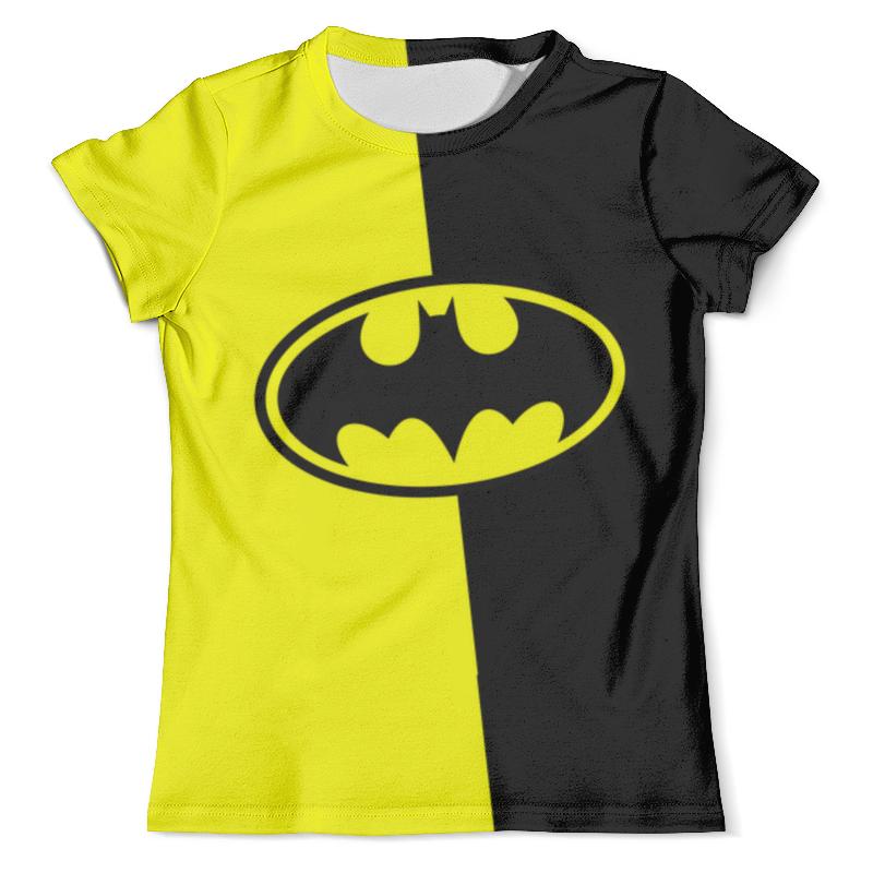 Футболка с полной запечаткой (мужская) Printio Batman (бэтмен) футболка с полной запечаткой для девочек printio batman x joker бэтмен