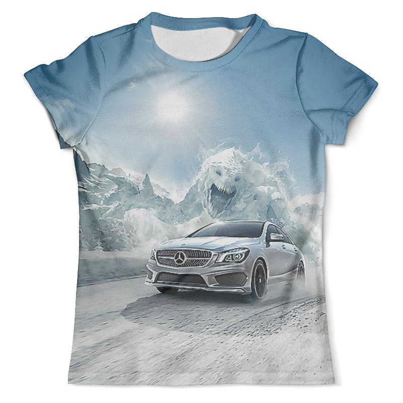 Футболка с полной запечаткой (мужская) Printio Mercedes-benz футболка с полной запечаткой женская printio mercedes benz amg гелендваген