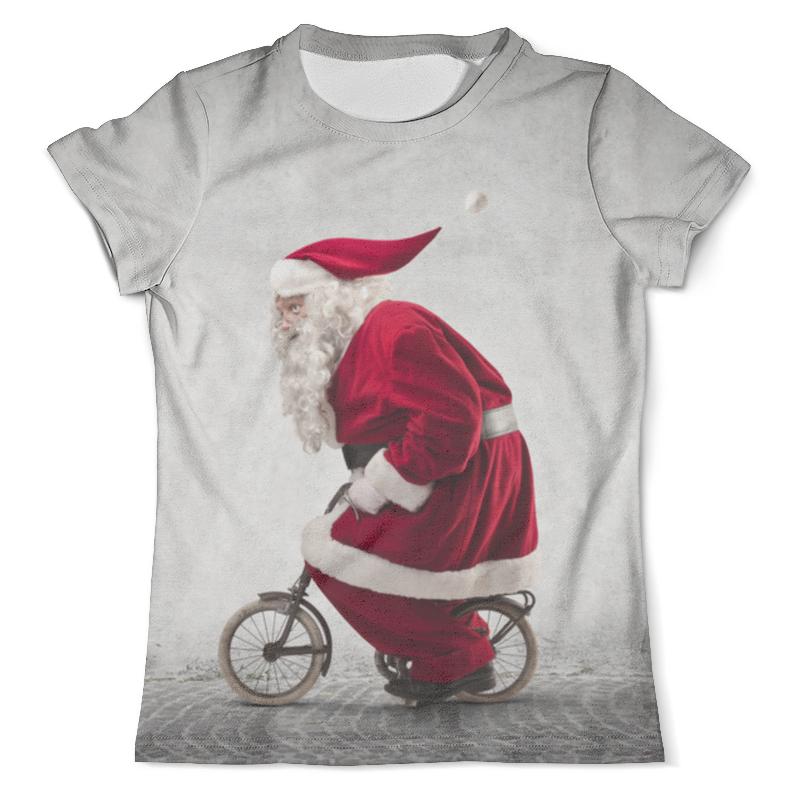 Футболка с полной запечаткой (мужская) Printio Дед мороз, санта-клаус сумка с полной запечаткой printio санта клаус
