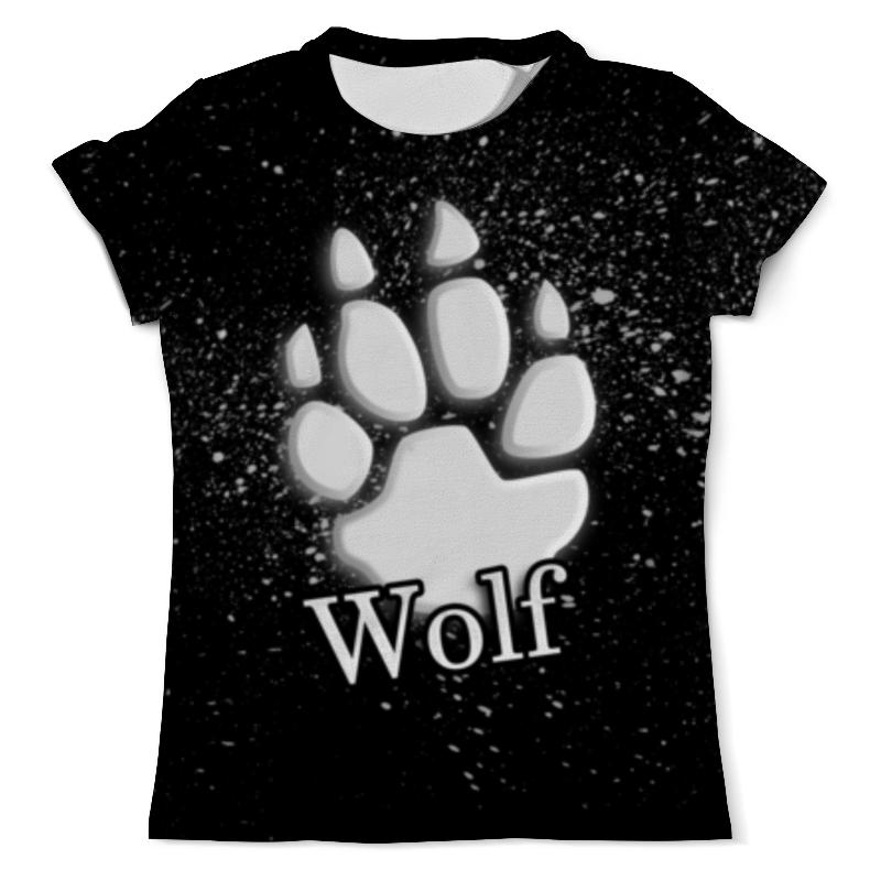 Футболка с полной запечаткой (мужская) Printio Лапа волка борцовка с полной запечаткой printio лапа волка