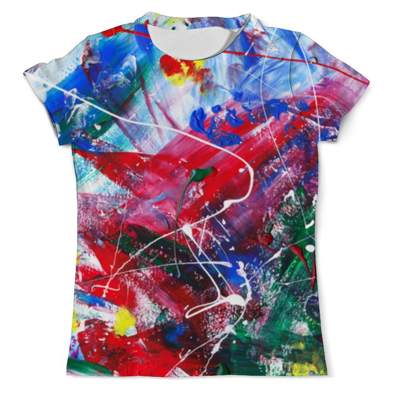 Футболка с полной запечаткой (мужская) Printio emotion - всплеск мужская одежда