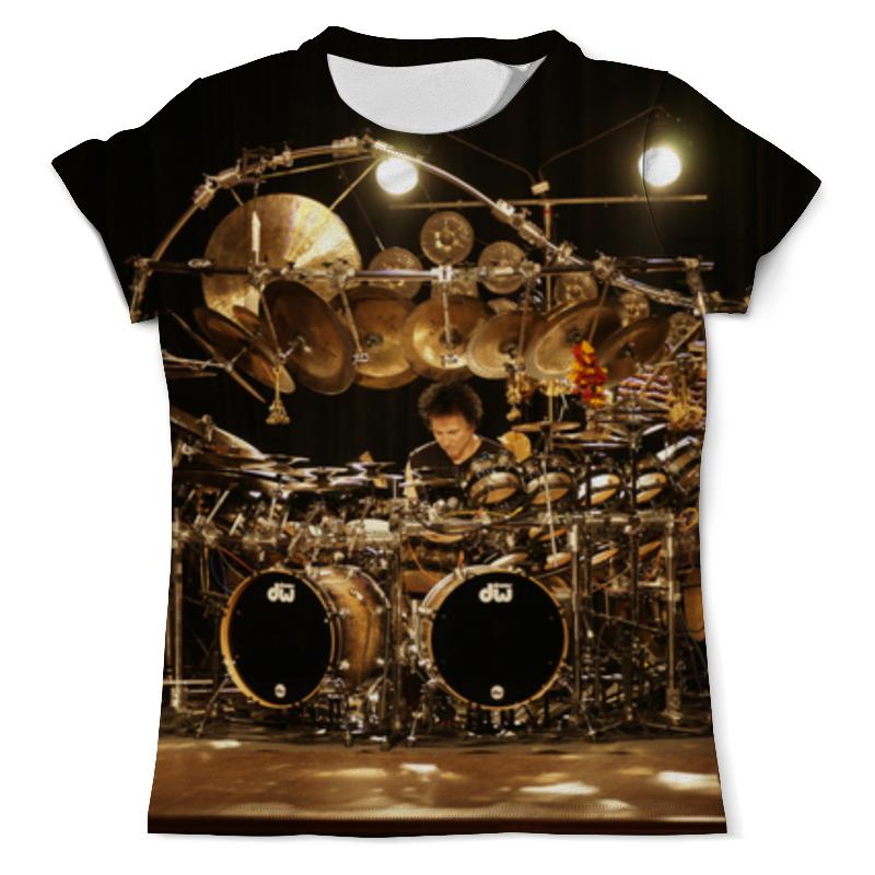 Футболка с полной запечаткой (мужская) Printio Drums bozzio цены