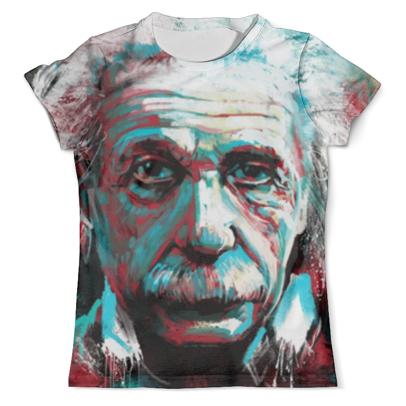 Футболка с полной запечаткой (мужская) Printio Альберт эйнштейн альберт эйнштейн леопольд инфельд эволюция физики