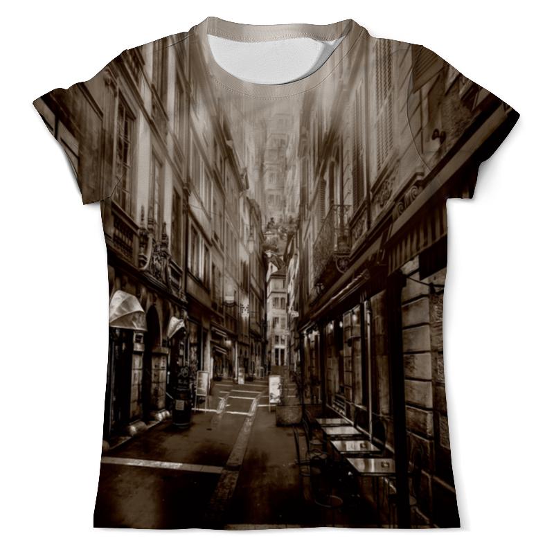 Фото - Футболка с полной запечаткой (мужская) Printio Улица города рубашка поло с полной запечаткой printio улица города