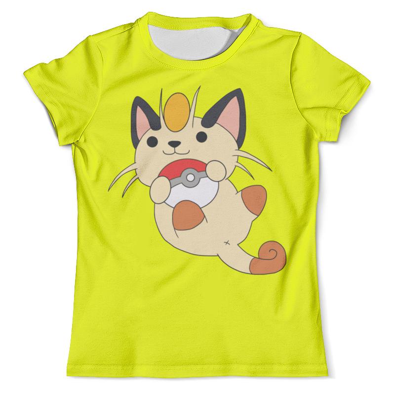 Футболка с полной запечаткой (мужская) Printio Покемон (pokemon) футболка с полной запечаткой мужская printio pokemon eevee покемон иивии
