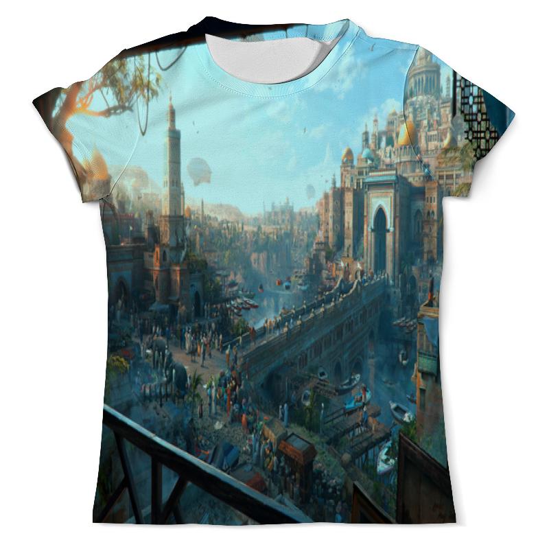 Футболка с полной запечаткой (мужская) Printio Город футболка с полной запечаткой мужская printio осень город такси тоска