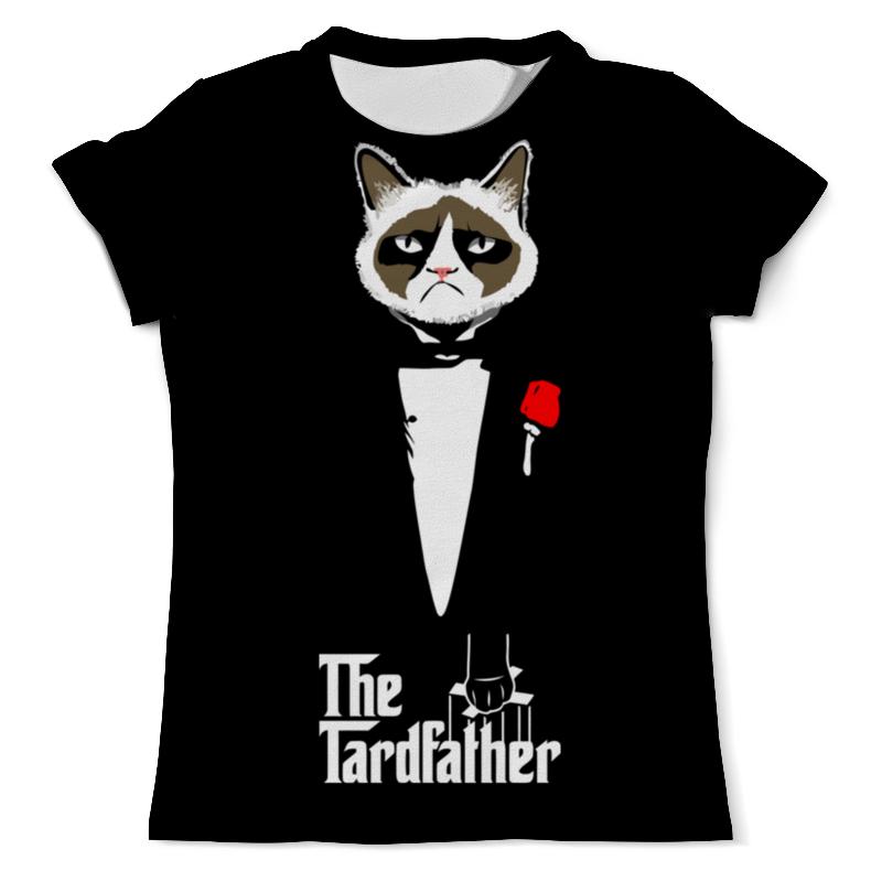 Printio Грустный кот футболка с полной запечаткой мужская printio прикольный кот