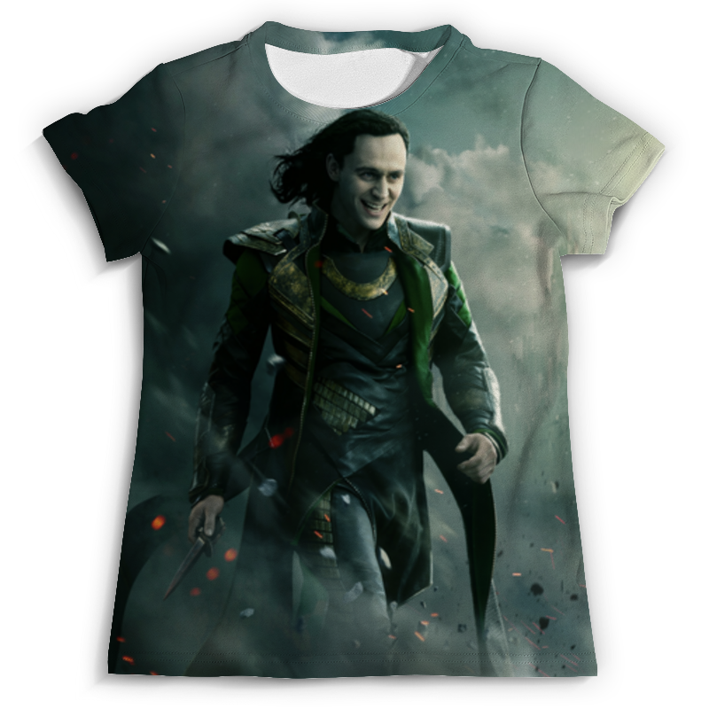 Футболка с полной запечаткой (мужская) Printio Тор (локи) футболка asics футболка layering top
