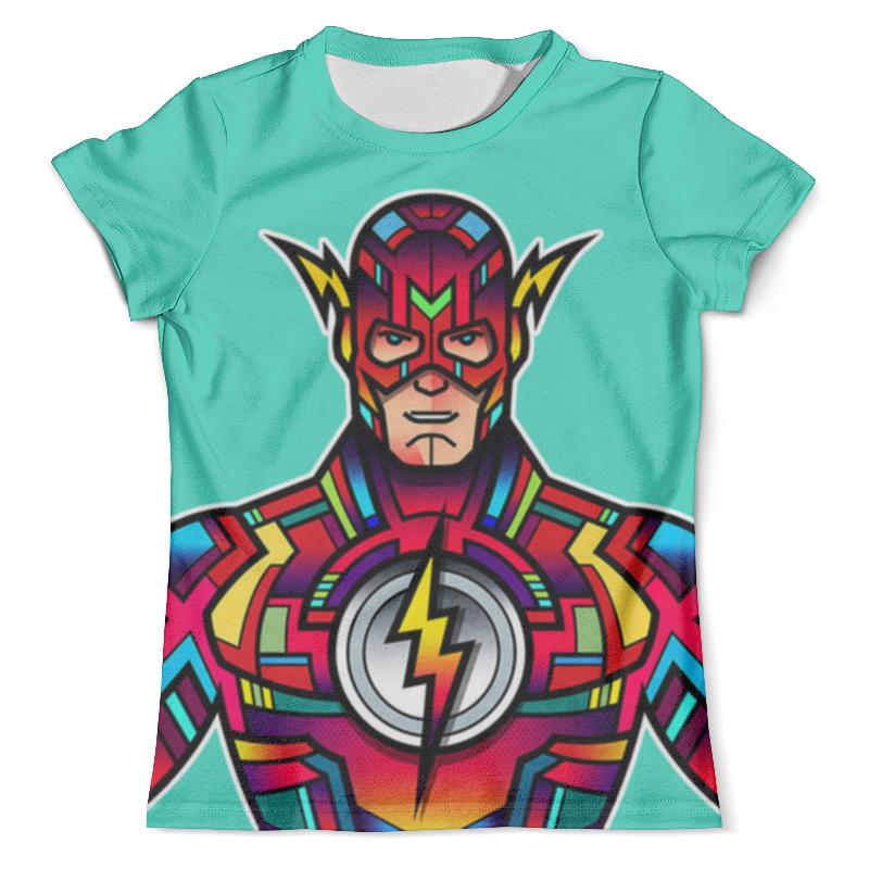 Футболка с полной запечаткой (мужская) Printio Flash dc футболка с полной запечаткой мужская printio flash v grodd
