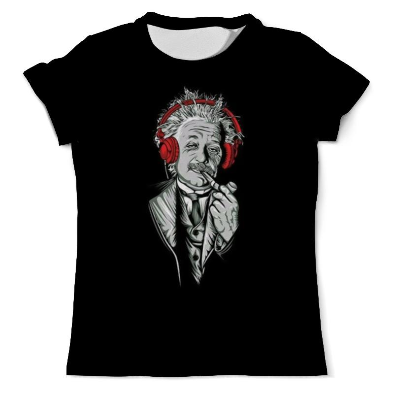 Футболка с полной запечаткой (мужская) Printio Альберт эйнштейн рюкзак с полной запечаткой printio эйнштейн