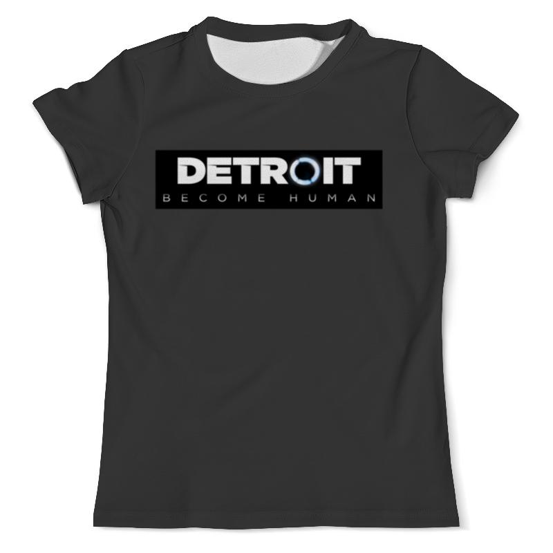 Футболка с полной запечаткой (мужская) Printio Detroit become human футболка с полной запечаткой для мальчиков printio detroit become human